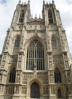 Beverley Minster, west front