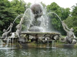 Castle Howard, the Atlas Fountain