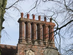 Unusual Chimneys for this area