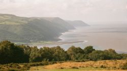 View over Exmoor's Coastline.