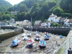 Lynmouth Harbour - North Devon.