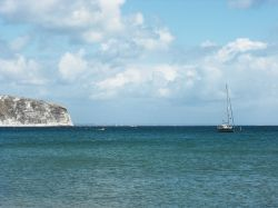 View from Swanage Beach
