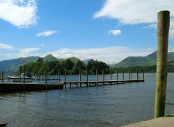 Derwentwater, summer afternoon.