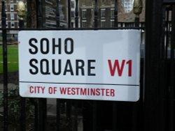 Soho Square sign