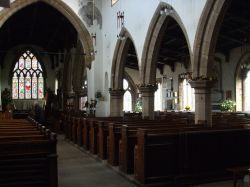 St Gregory's Church, Bedale, North Yorkshire.