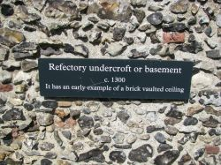 Notice on the Old Priory