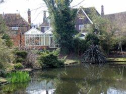 The duck pond Ruislip