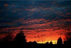 We had a beautiful sunset last night. Wallpaper