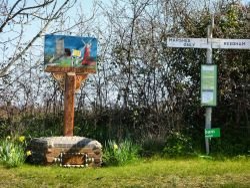 Wickhampton Village Sign