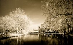 Tickhill, South Yorkshire 'infrared'