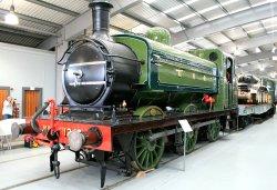 Exhibit in the Rail Museum.