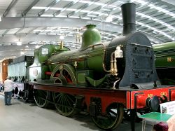 Exhibited in the Rail Museum