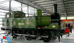 Exhibited in the Rail Museum. No 69023