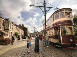 Town Street of Beamish Museum