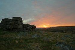 Sunrise on Houndtor