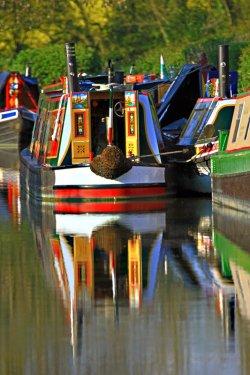 Narrow Boats - Oxford Canal