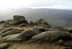 Boulders on Shelf Moor