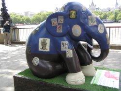 London Elephant Parade, South Bank