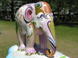 London Elephant Parade, Green Park