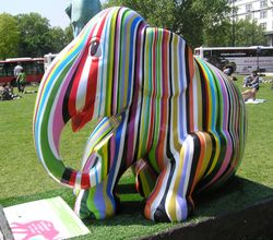London Elephant Parade, Marble Arch