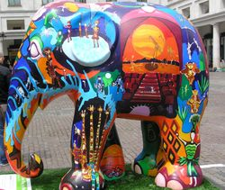 London Elephant Parade, Covent Garden