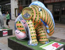 London Elephant Parade, Leicester Square