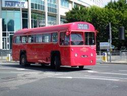Old buses at Uxbridge 27 06 10