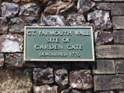 Garden Gate Plaque