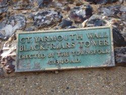 Blackfriars Tower plaque