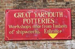 The Potteries Plaque