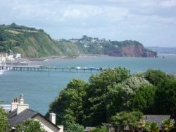 View of Teignmouth from Shaldon.