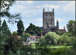 Tewksbury Abbey.
