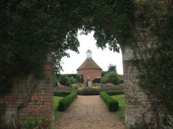 Dovecote in the walled garden