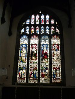 St. Margarets Church Stained Glass Window