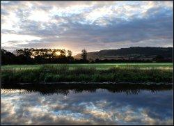 Sunrise Bredon Hill.