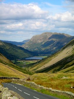 Kirkstone Pass, looking north.