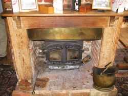 Griffin Pub Fireplace