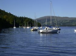 Windermere, looking north on a summer afternoon.