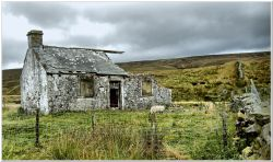 Long abandoned cottage, Yorkshire Dales.