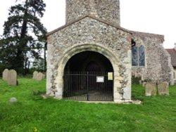 An unused doorway