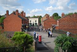 Main street at Black Country Museum