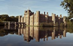 Herstmonseux Castle in Sussex