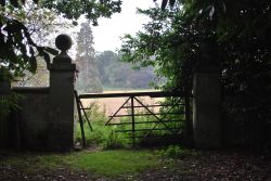 Nice gateposts, shame about the gate!