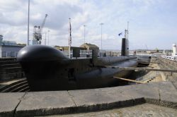 Submarine at Historic Dockyard Museum