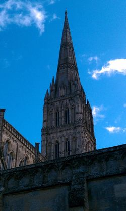 Salisbury Cathedral Spire (440ft)