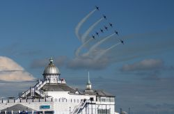 Red Arrows over the Pier!