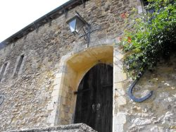Doorway of one of the Abbey buildings