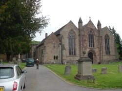 Medieval Church of St Michael and all Angels in Ledbury