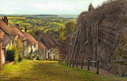 Shaftesbury in Dorset