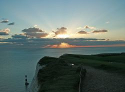 Sunset from Beachy Head